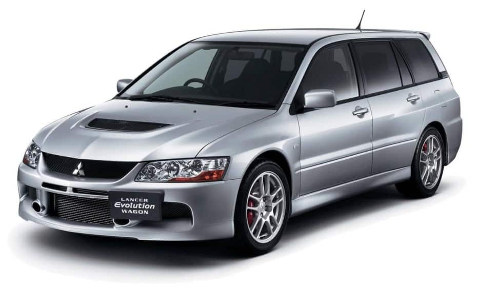 Mitsubishi Lancer Evolution Wagon: Familia y EVO unidos de la mano