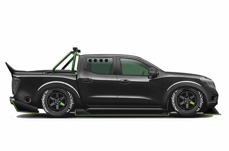 1.000 CV para este Nissan Navara equipado con el bloque V6 del GT-R ¡Y es legal en la carretera!
