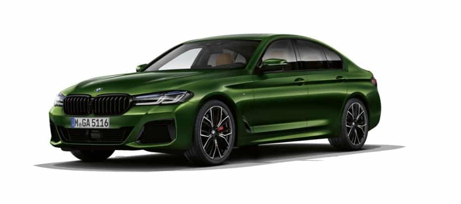 Teniendo el V8 de 530 CV del BMW M550i xDrive, ¿quién necesita un M5?