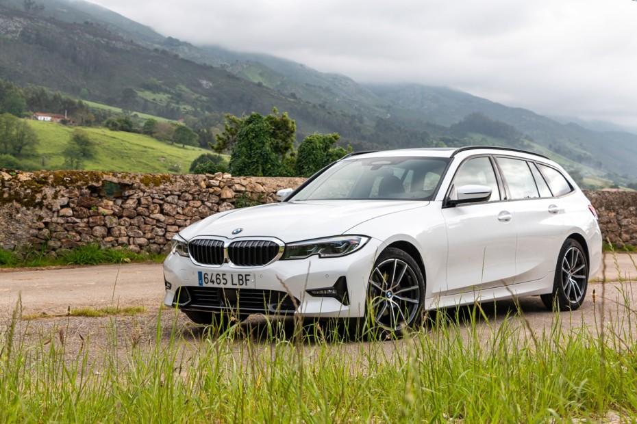 Prueba BMW 320d Touring 190 CV 8AT 2020: Potencia razonable y consumos ajustados