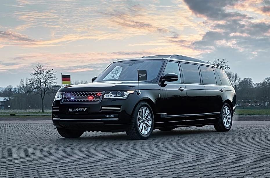 Este Range Rover SVAutobiography blindado es el juguete ideal para presidentes y dictadores