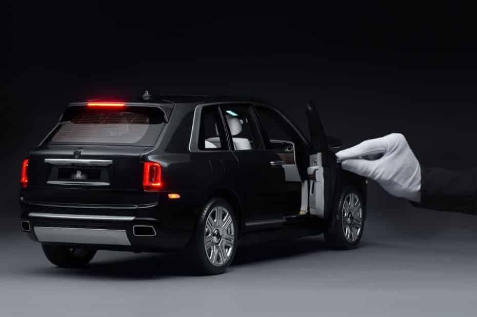 El Rolls-Royce Cullinan a escala 1:8 tiene precio: Parte de los 15.000 y puede superar los 35.000 euros