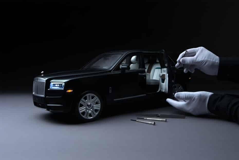 Rolls-Royce presenta un Cullinan a escala 1:8 que podría ser más caro que tu coche