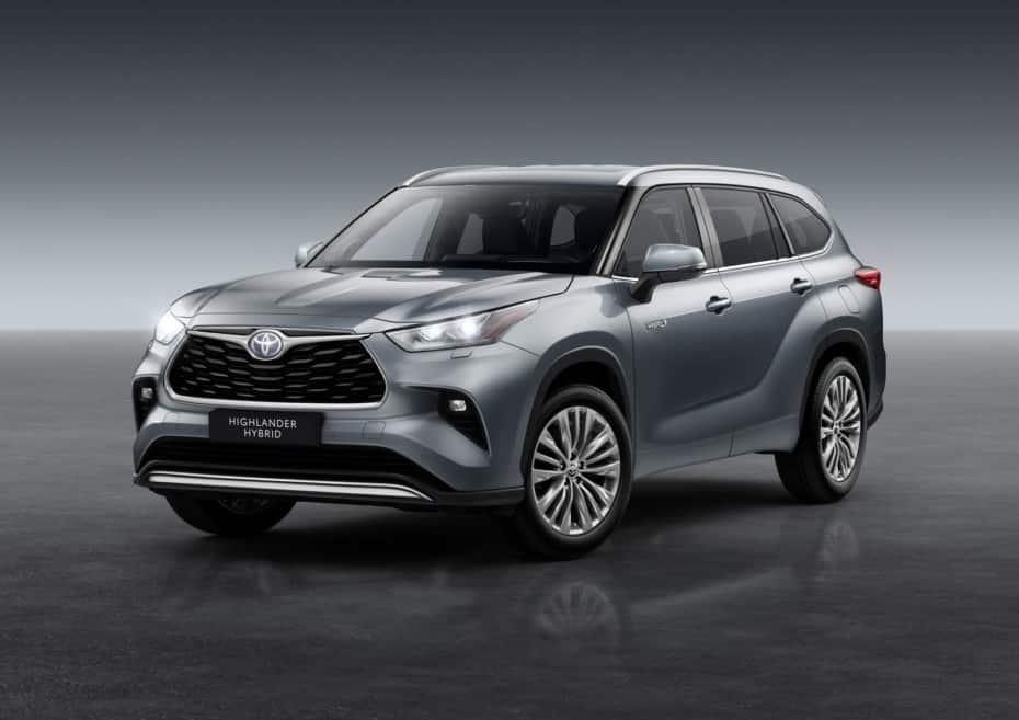 El Toyota Highlander llegará a España con 7 plazas en 2021