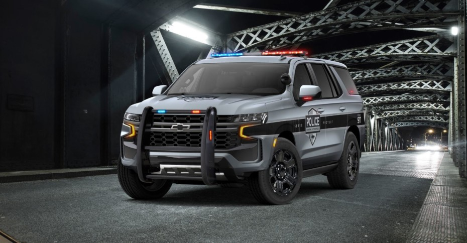 Chevrolet Tahoe Police Pursuit, o la mejor manera de perseguir a los malos con un V8 de 5.3 litros