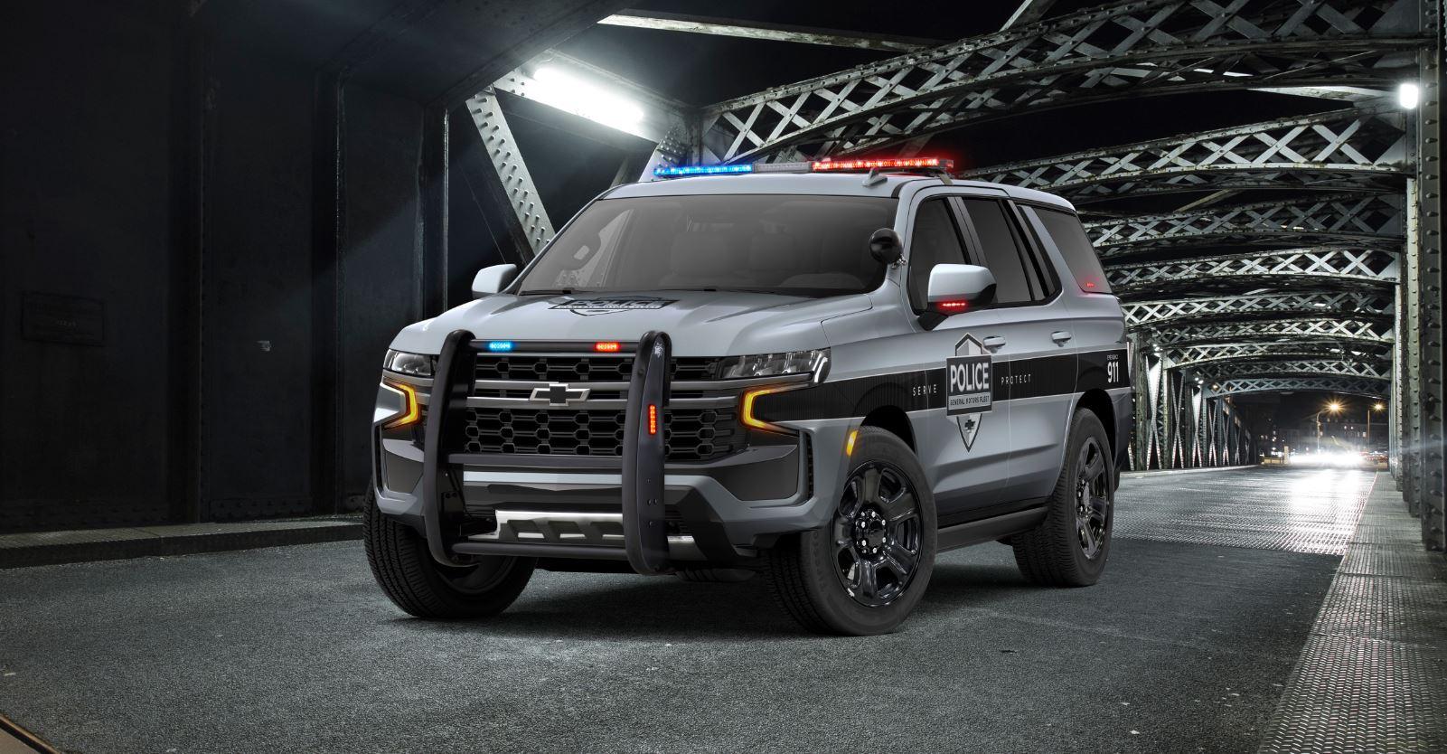 Chevrolet Tahoe Police Pursuit, o la mejor manera de ...