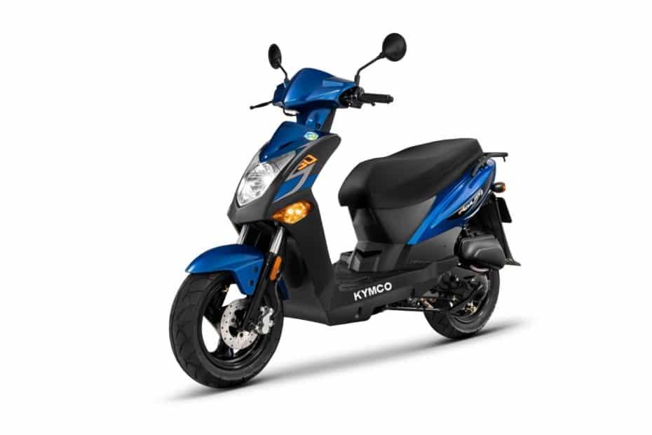 Kymco añade un nuevo ciclomotor a la oferta española