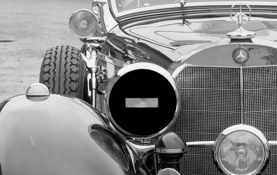 ¿Por qué se dejaba esta rendija en los faros de coches y motos?