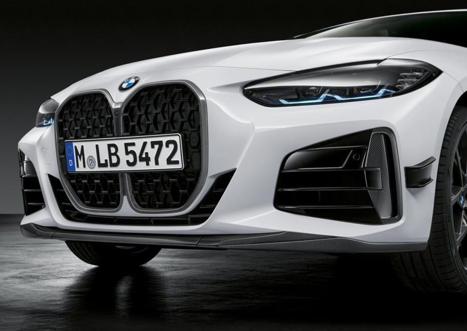 Nuevas imágenes de las M Performance Parts para el nuevo BMW Serie 4