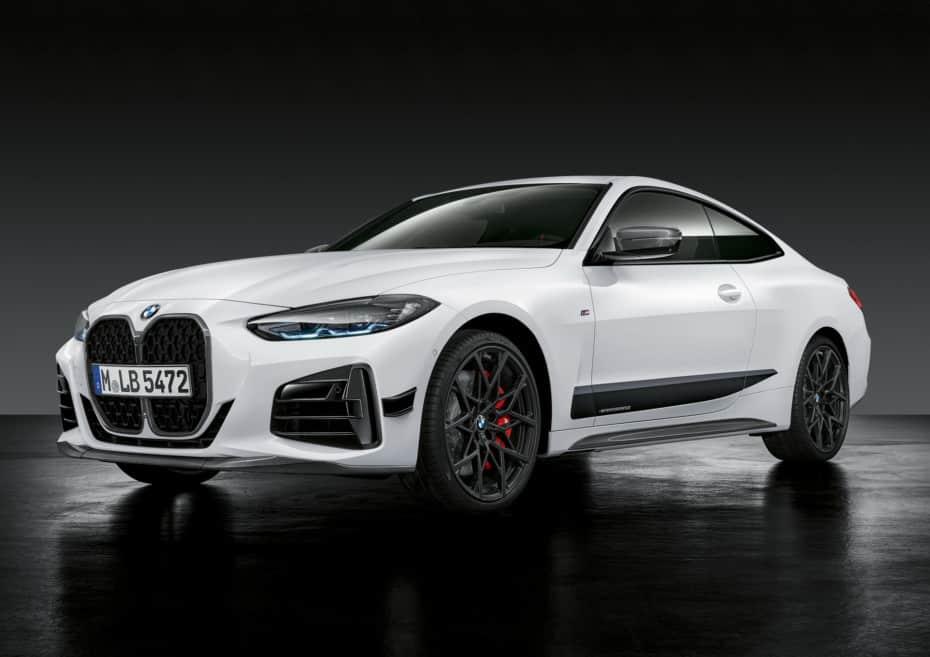 Estas son las chucherías M Performance para el nuevo BMW Serie 4 Coupé: Dieta rica en fibra