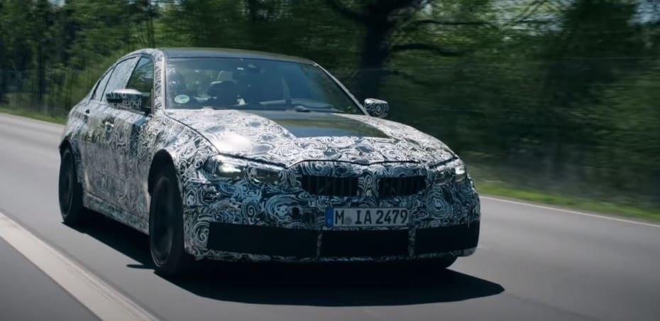 ¿Esperando al BMW M3 G80?: Aquí lo tienes poniéndose en forma…