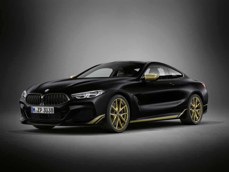 BMW Serie 8 Golden Thunder Edition: Un toque de extravagancia