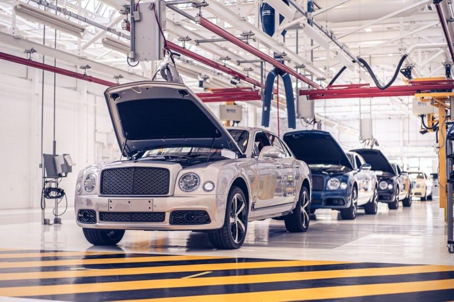 La fábrica de Bentley en Crewe celebra sus 75 primaveras: algunos datos curiosos
