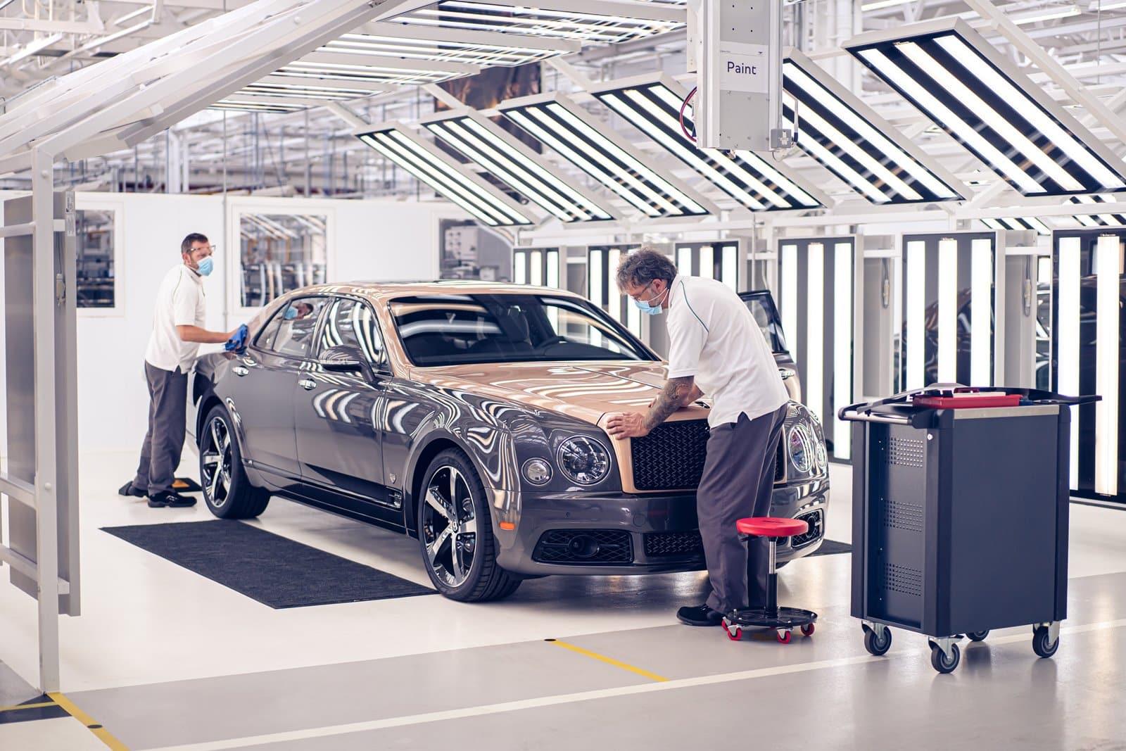 La fábrica de Bentley despide al Mulsanne