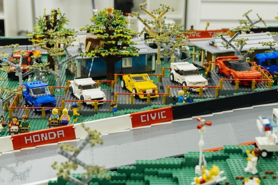 Esta construcción de LEGO y Honda tiene 150.000 ladrillos y te encantaría tenerla en casa