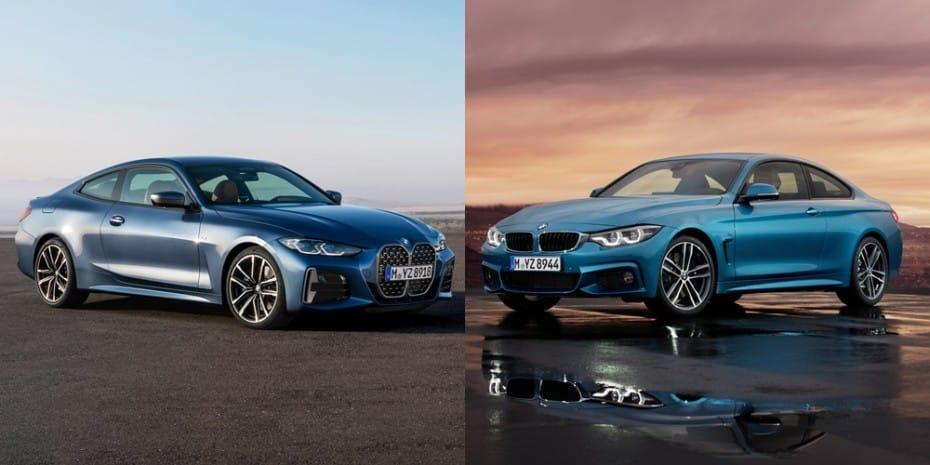 Comparación visual BMW Serie 4 Coupé 2020: ¿Te ha gustado que BMW arriesgue en el diseño?