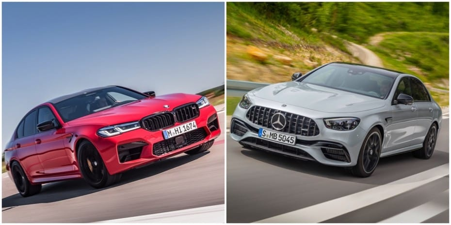 Comparación visual BMW M5 vs. Mercedes-AMG E 63 S 2020: ¿Tú con qué superberlina te quedas?