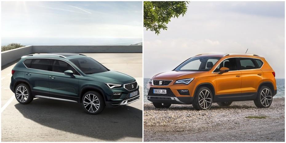 Comparación visual SEAT Ateca 2020: Juzga tú mismo cómo le han sentado los cambios al SUV