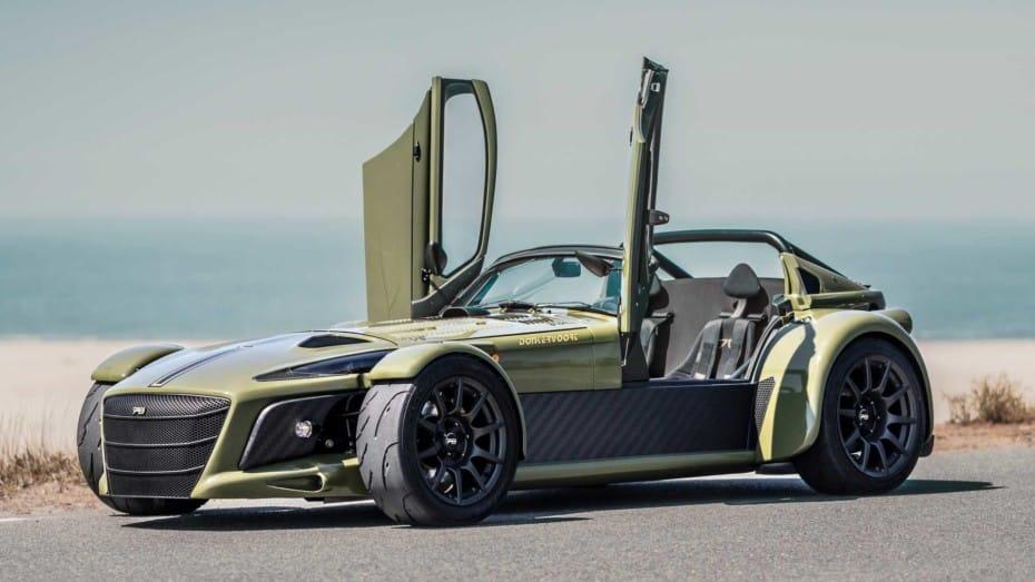 Así es el Dunkervoort D8 GTO JD70 de producción: Motor RS de Audi con aceleraciones laterales de 2G