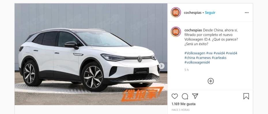¡Filtrado! Saluda al Volkswagen ID.4 2021: ¿Qué te parece el nuevo crossover eléctrico?