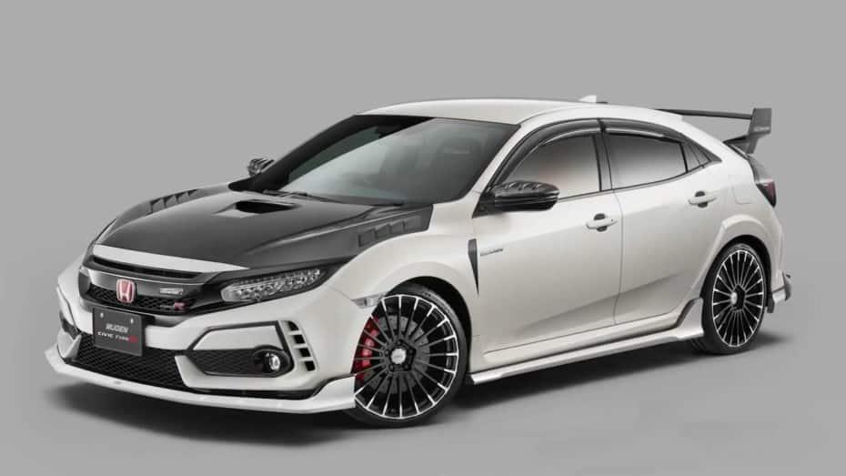 Dieta rica en fibra de carbono para el Honda Civic Type R: Desearás equipar estos accesorios