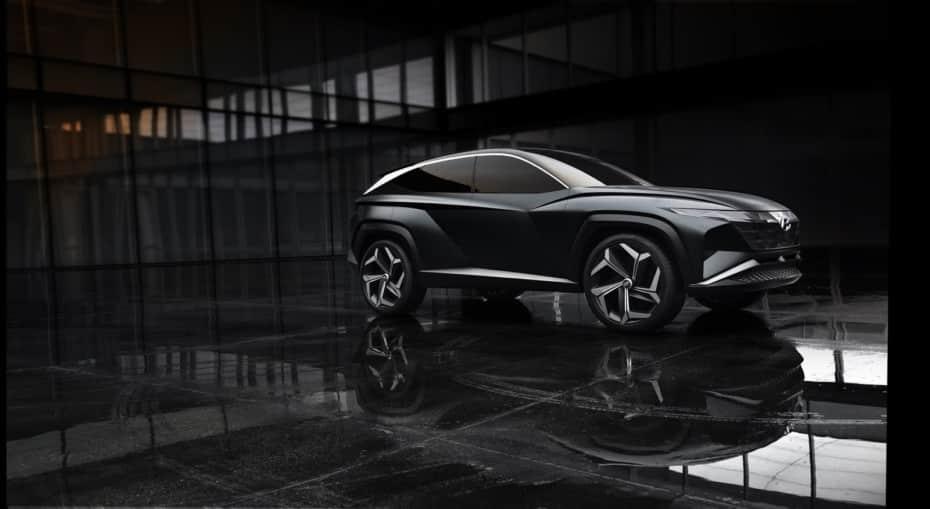 El Vision T Concept se deja ver nuevamente: El futuro ADN SUV de Hyundai