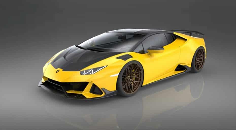 Sobredosis de fibra de carbono y potencia para el Lamborghini Huracán EVO