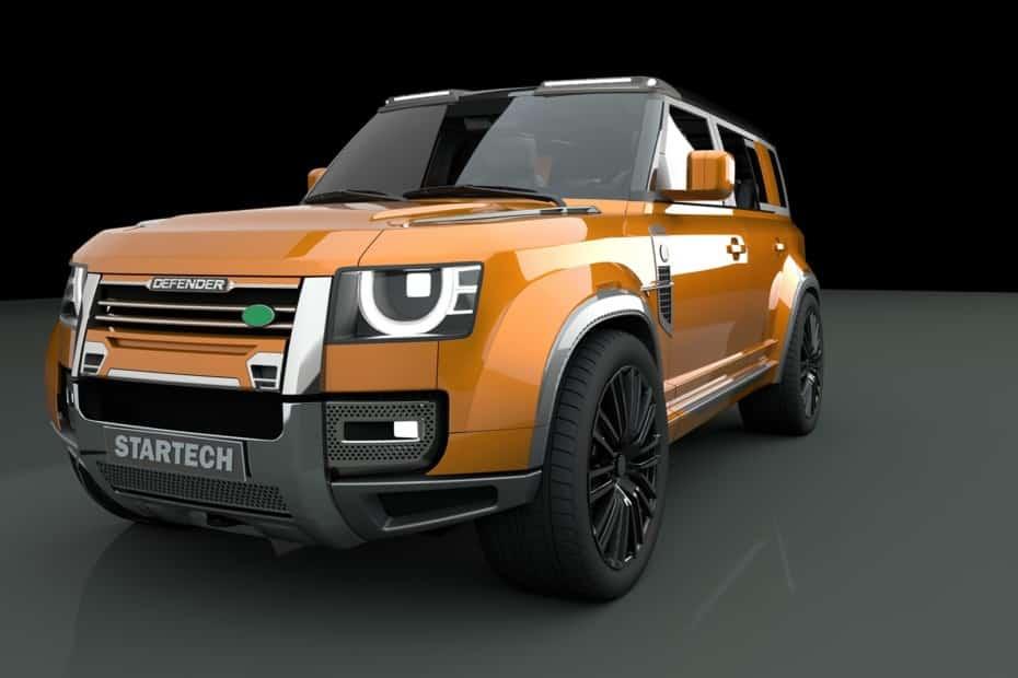 Startech está trabajando sobre el nuevo Land Rover Defender y tiene muy buena pinta