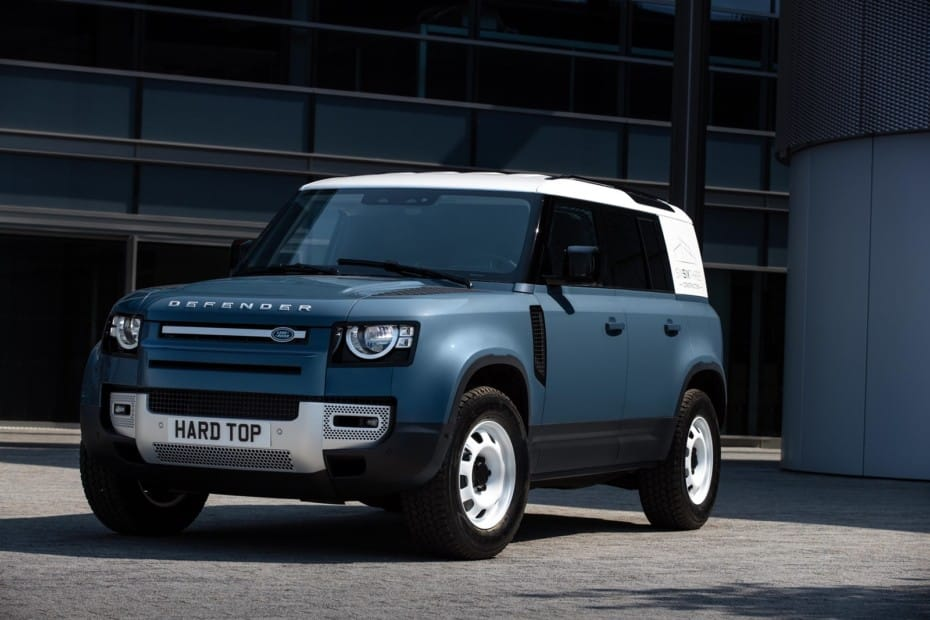 Land Rover Defender «Hard Top»: la versión comercial