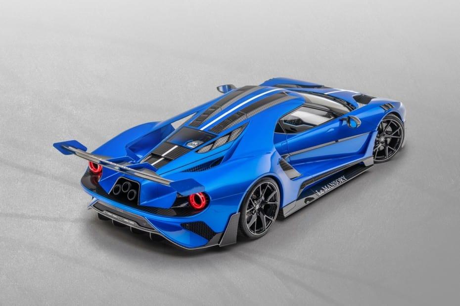 ¿Querías uno de los tres Ford GT Le MANSORY? Aquí tienes uno, pero prepara el bolsillo…