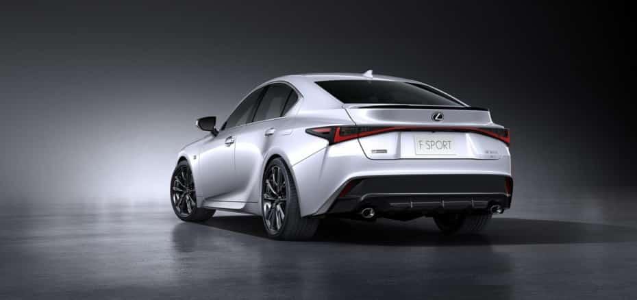 ¡Oficial!: Así es el «nuevo» Lexus IS que llegará a finales de año