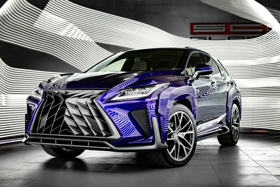 Si quieres que tu SUV Lexus parezca Predator, puedes comprar estos paquetes en eBay