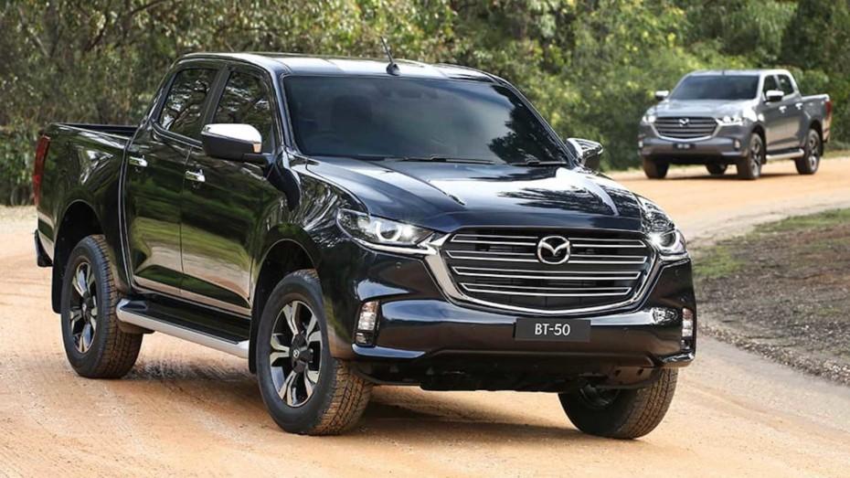 Así es el Mazda BT-50 2021: Elegancia Kodo con la practicidad de un pick-up que no verás por Europa