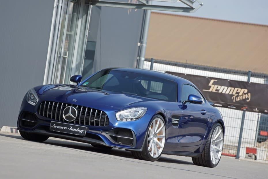 A falta de Mercedes-AMG GT Black Series, bueno es este Mercedes-AMG GT S con más de 630 CV