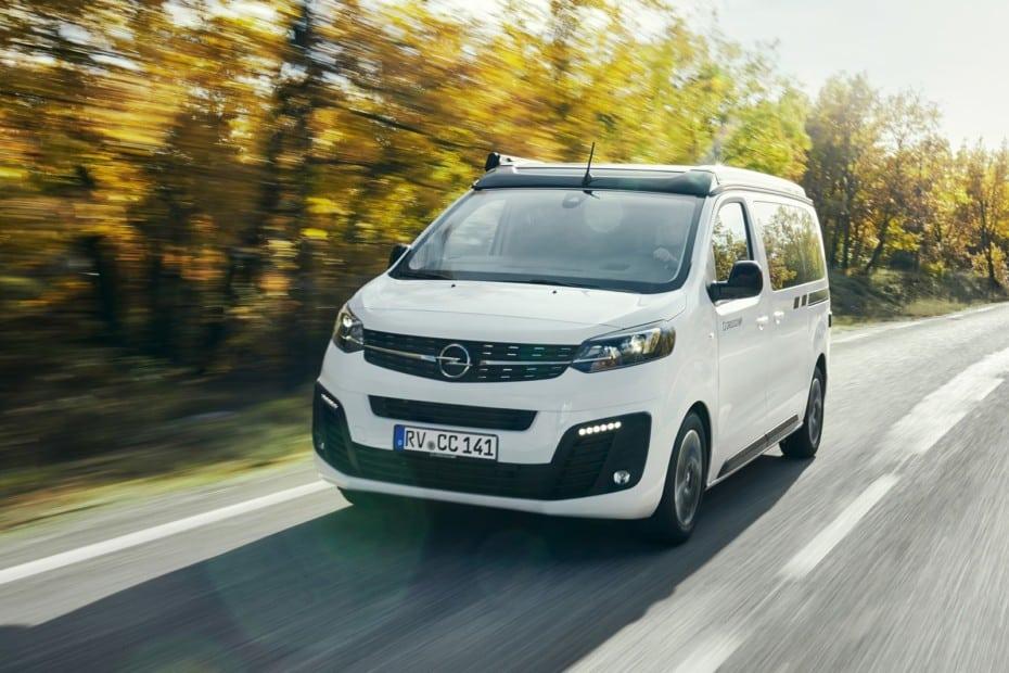 Opel Crosscamp Life: La versión camperizada