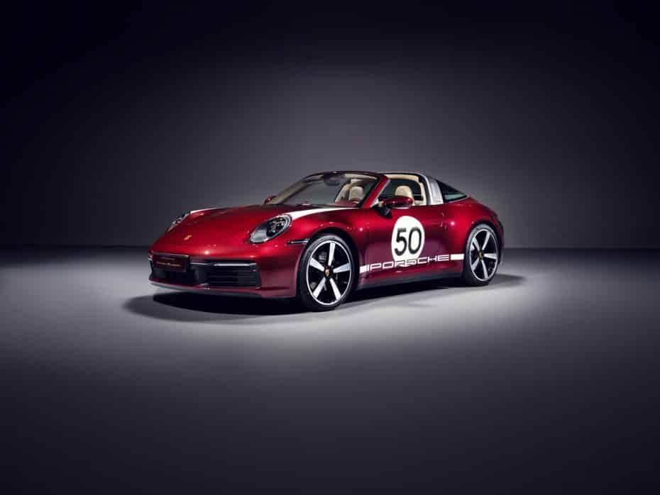 Porsche 911 Targa 4S Heritage Design: La primera de cuatro ediciones de colección