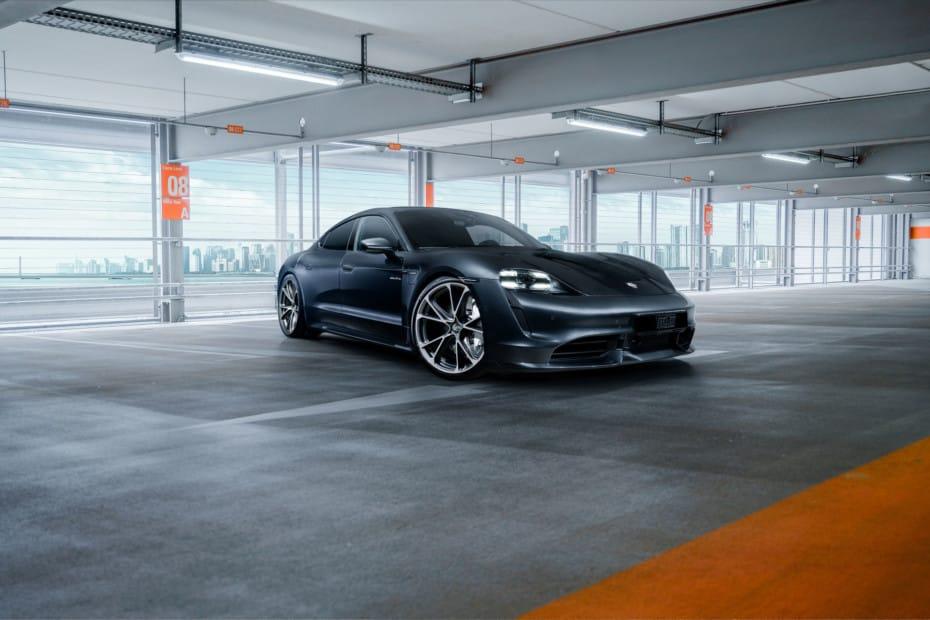 TechArt se atreve con el Porsche Taycan: Discretas mejoras, pero muy acertadas