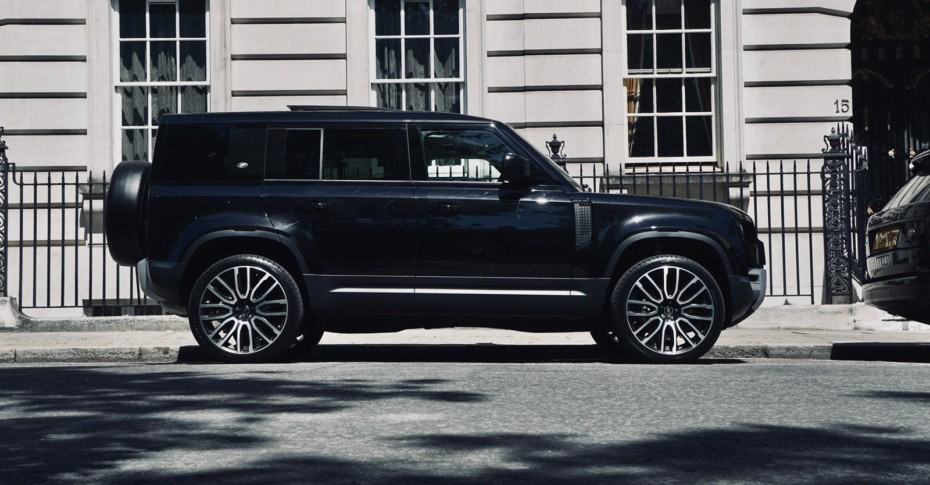 Kahn se atreve con el nuevo Land Rover Defender: Toque deportivo sin perder la elegancia