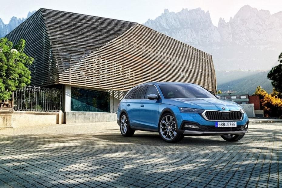 Así es el nuevo Škoda Octavia Scout: Mejor en todo