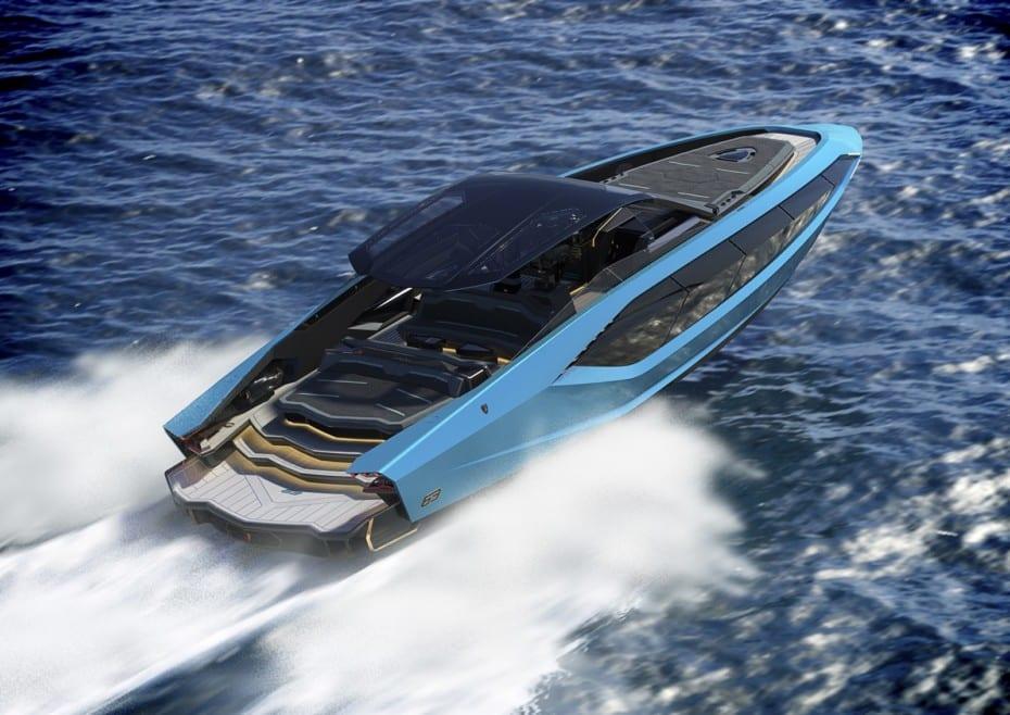 Lo último de Lamborghini tiene dos motores V12 de MAN