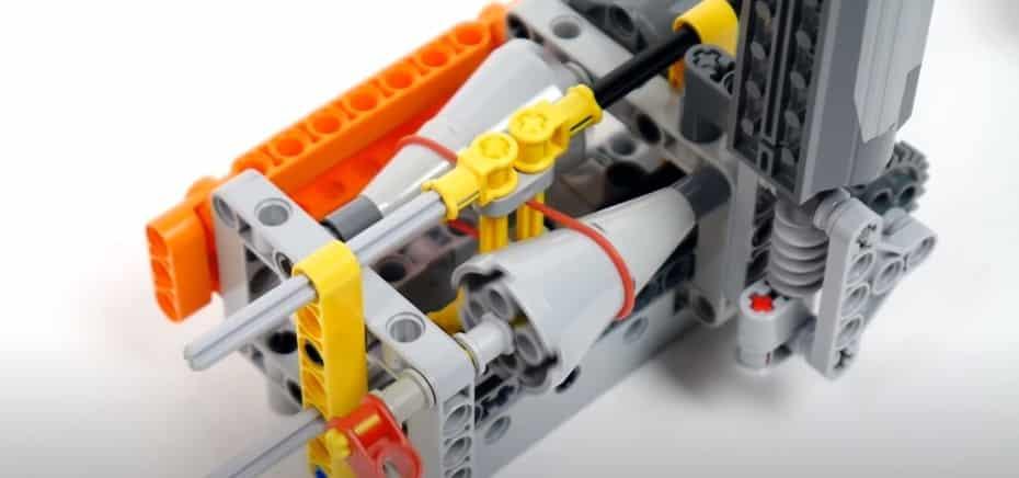 Ahora entenderás el funcionamiento de un CVT gracias a esta construcción de LEGO