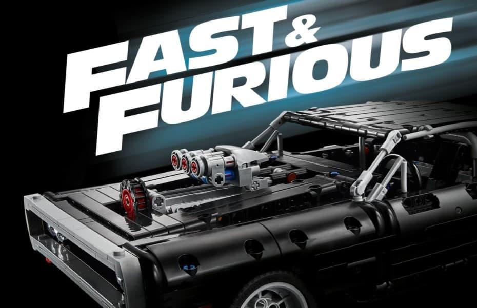 Montamos el Dodge Charger de Dom Toretto y revivimos Fast & Furious gracias a LEGO