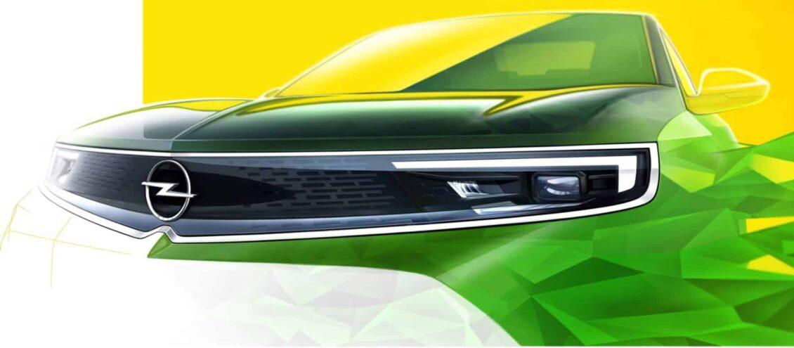 Así será el frontal del nuevo Opel Mokka: Lo copiarán el resto de modelos de la gama