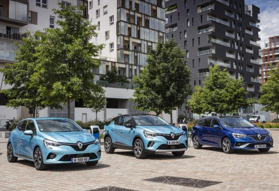 Nuevas imágenes de la gama Renault E-Tech: Clio, Captur y Mégane estrenan mecánica híbrida