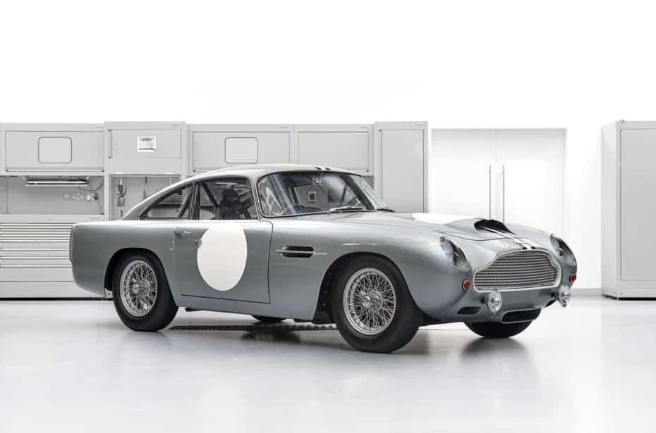 Así es la primera unidad del Aston Martin DB4 GT Continuation