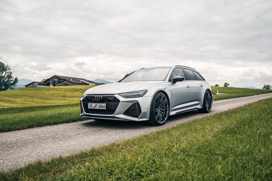 Hasta 740 CV para el Audi RS 6 Avant: Escuchar el sonido de sus escapes es una delicia