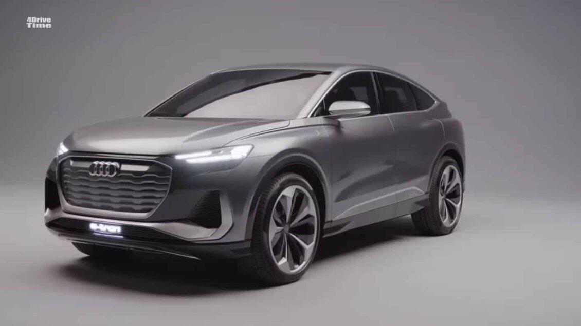 ¡Filtrado!: Así es el Audi Q4 Sportback E-Tron Concept