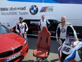 ¡Olvídate de las sillas de gaming!: El asiento de un BMW M4 Competition como silla de oficina es lo más