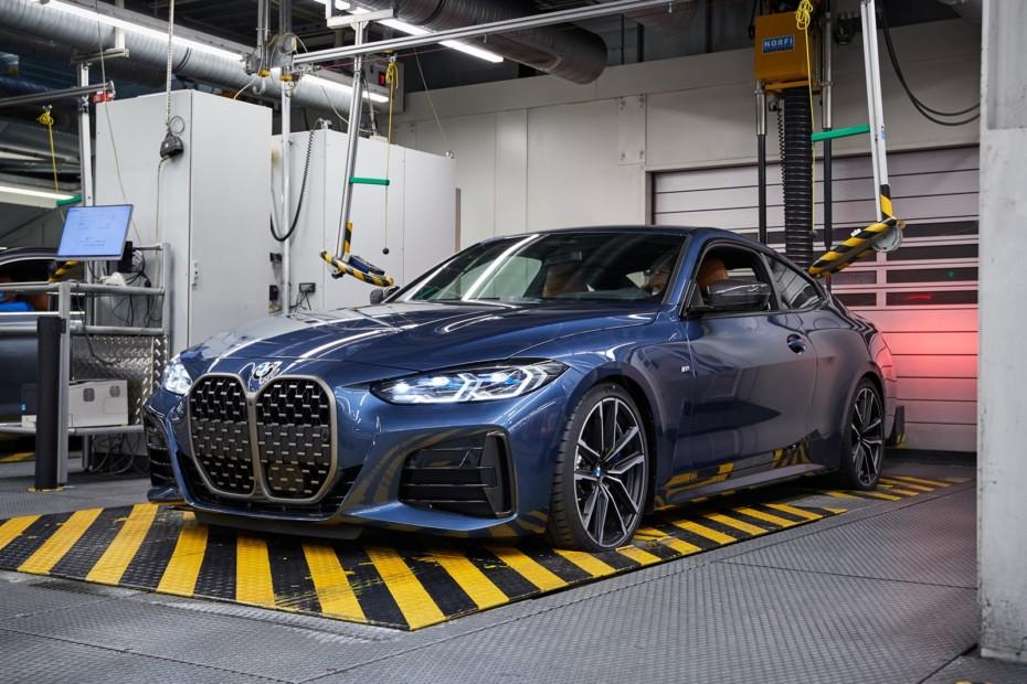Arranca la producción del BMW Serie 4 en Dingolfing: Gana al natural