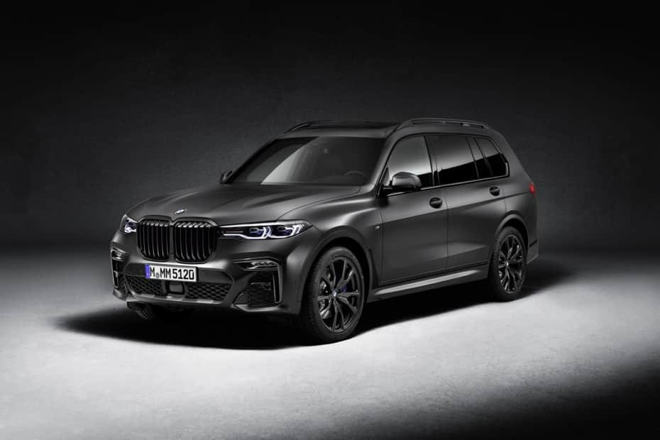BMW X7 Dark Shadow Edition: 500 unidades muy especiales que se visten de negro